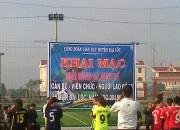 Công đoàn GD Đại Hòa tham gia bóng đá nữ cấp huyện